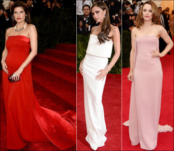 2014 met gala fashion dresses column gowns