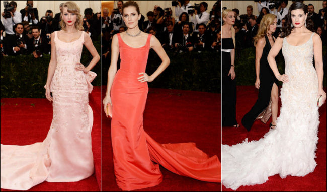 2014 met gala fashion dresses taylor swift