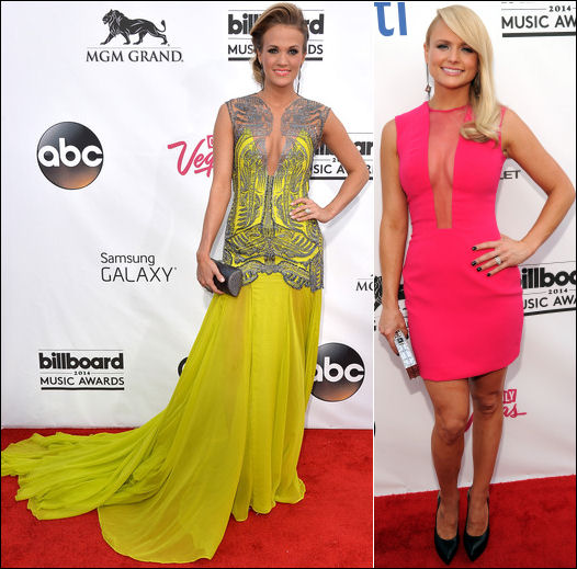 billboard music awards red carpet 2014 carrie underwood miranda lambert