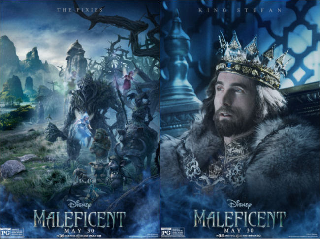 maleficent movie posters the pixies king stefan