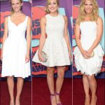 2014 cmt red carpet dresses white