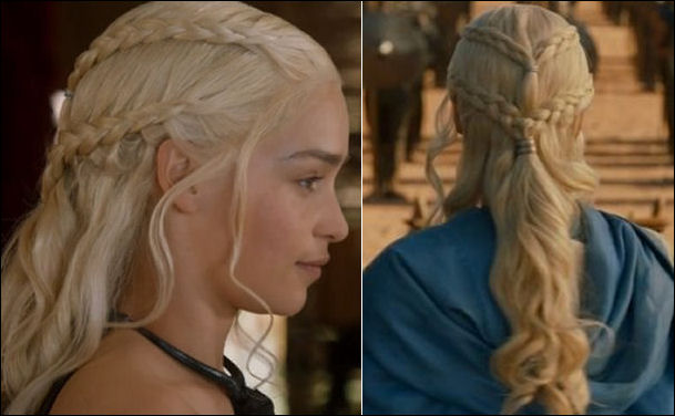 game of thrones braids hair how to