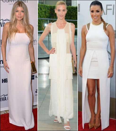 white dresses lwds summer 2014