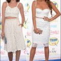 2014 Teen Choice Awards crop tops white shay mitchell hayle ramm