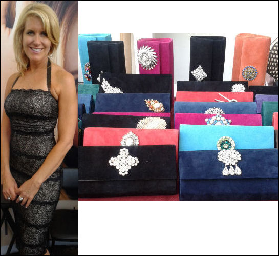 emmy gifting suite 2014 bra strap clutches
