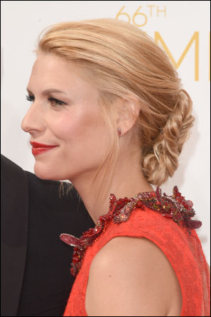 emmys 2014 claire danes hairstyle