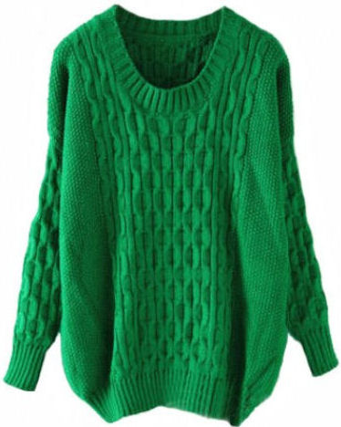 2014 fall fashion trends oversized sweater knit chicnova