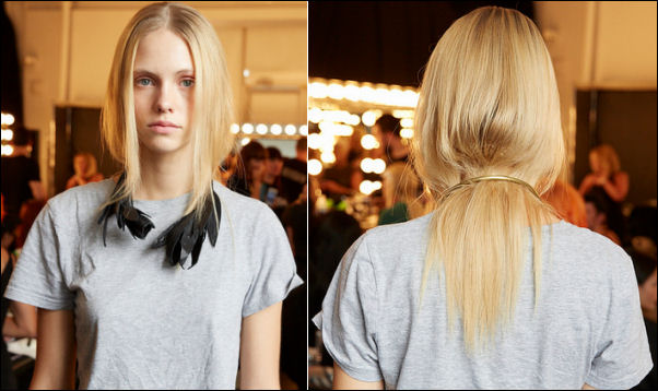 new york fashion week spring 2015 hair trend osklen