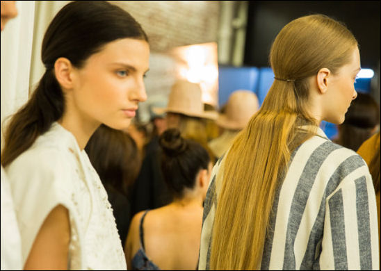 nyfw spring 2015 hair beauty trends tibi