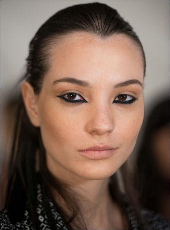 nyfw spring 2015 makeup beauty trends nicholas k