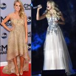 cma awards 2014 carrie underwood dresses style lorena sarbu gown