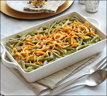 thanksgiving recipes side dishes green bean casserole