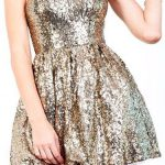 holiday style trends 2014 shiny dress