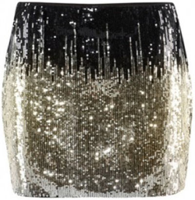 holiday style trends shiny mini skirt 2014