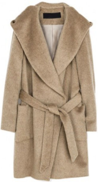 robe coats 2014 fall fashion trends camel