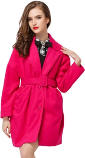 robe coats 2014 fall fashion trends fuchsia