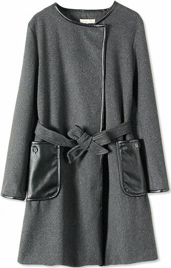 robe coats 2014 fall fashion trends grey