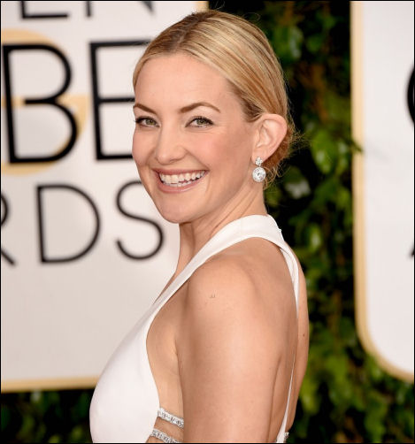2015 golden globes hairstyles kate hudson