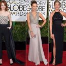 2015 Golden Globes red carpet dresses