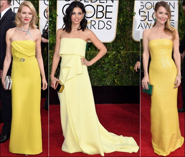 2015 golden globes red carpet dresses fashion