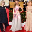 2015 SAG Awards red carpet dresses