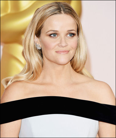 2015 oscar awards hairstyle reese witherspoon