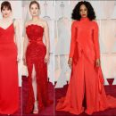 2015 Oscar Awards red carpet dresses