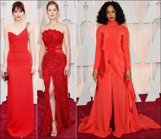 2015 oscar awards red carpet dresses red gowns