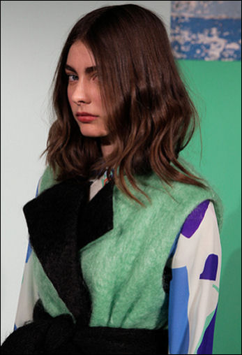 nyfw fall 2015 hairstyle novis new york fashion week