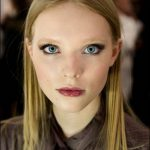 nyfw fall 2015 makeup dennis basso new york fashion week