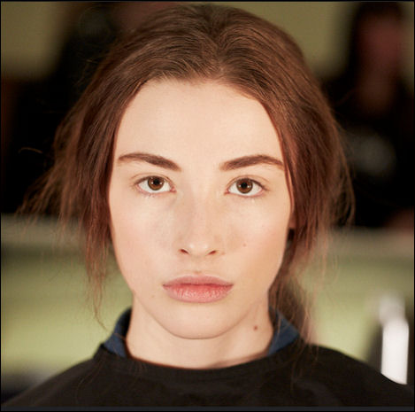 nyfw fall 2015 makeup naadam new york fashion week
