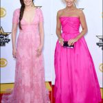 2015 acm awards red carpet dresses pink