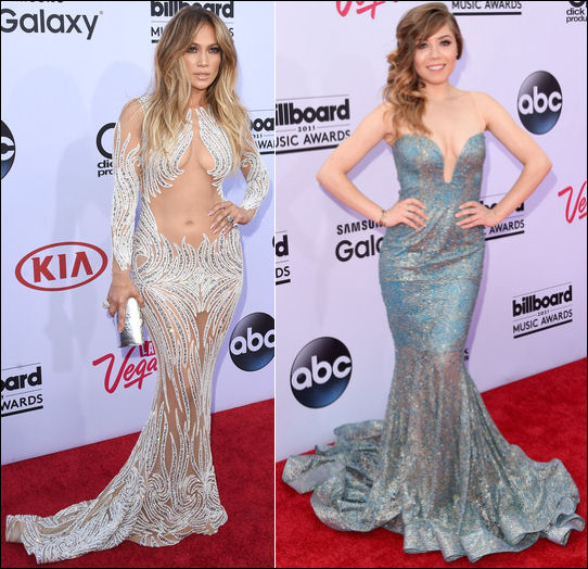 2015 billboard music awards red carpet dresses jennifer lopez