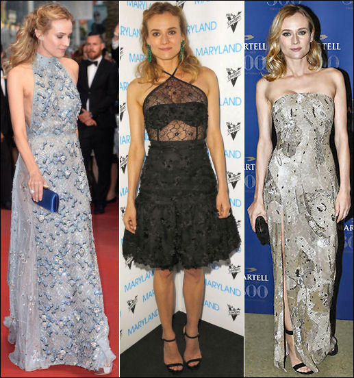 2015 cannes red carpet dresses DIANE KRUGER
