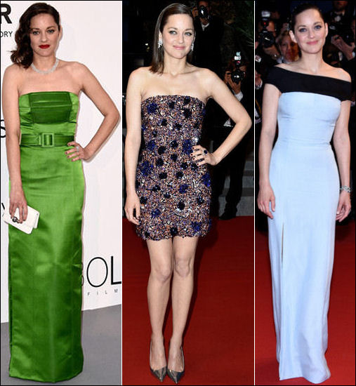 2015 cannes red carpet dresses MARION COTILLARD