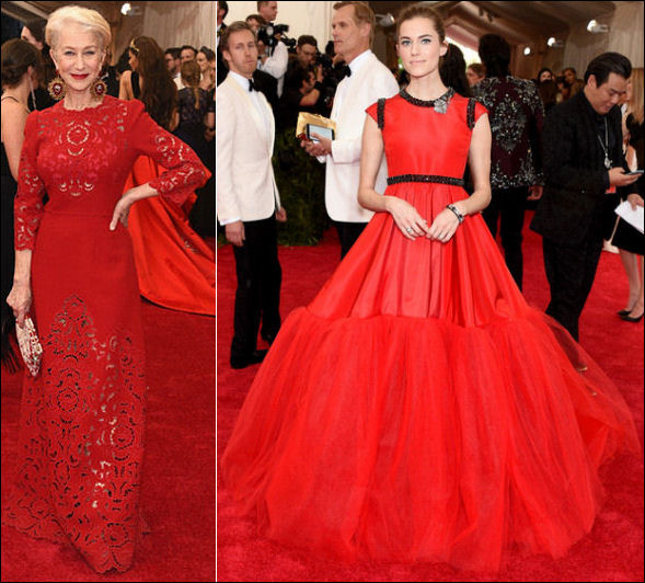 2015 met gala red carpet dresses ladylike