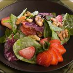 strawberry salad recipes summer