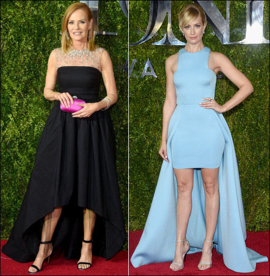 2015 tony awards red carpet dresses fashion HIGH LOW