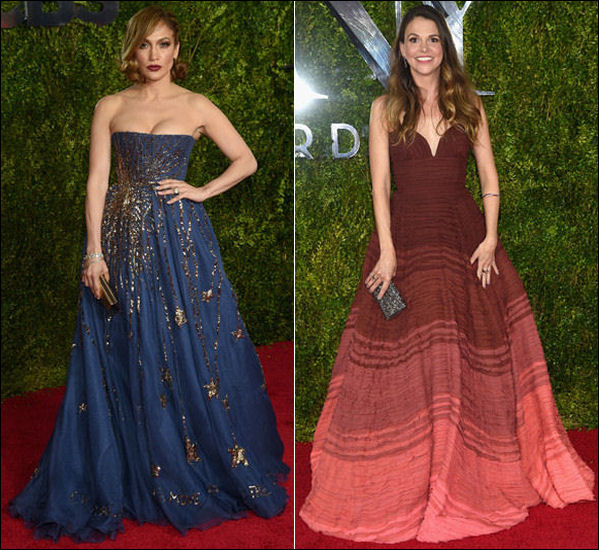 2015 tony awards red carpet dresses PRINCESS