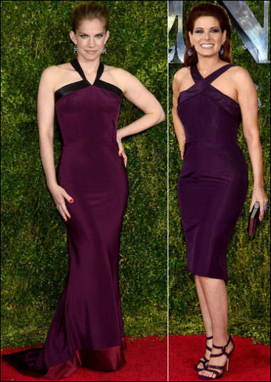 2015 tony awards red carpet dresses PURPLE