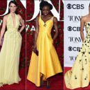 2016 Tony Awards red carpet dresses