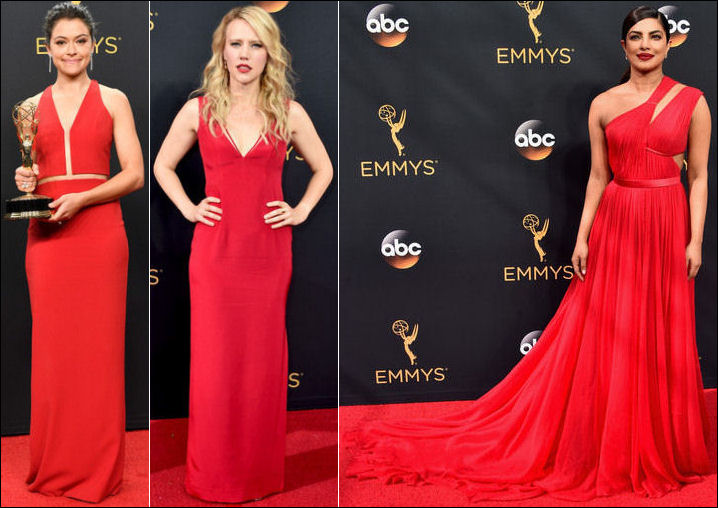 2016 Emmys Red Carpet Dresses