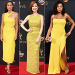 2016 Emmys red carpet dresses yellow