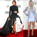 2016 American Music Awards red carpet fashion