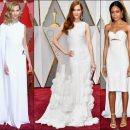 2017 Oscar Awards red carpet dresses