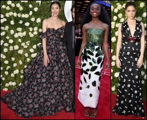 2017-TONY-AWARDS-RED-CARPET-DRESSES-NATURE