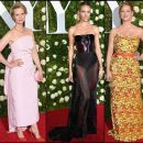 2017 Tony Awards red carpet dresses