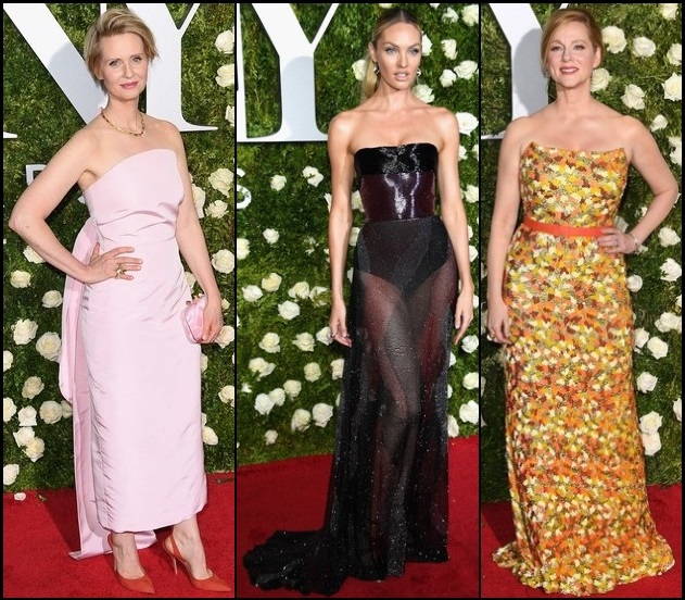 2017-TONY-AWARDS-RED-CARPET-DRESSES-STRAPLESS