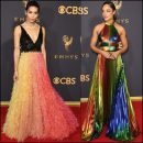 2017 Emmy Awards red carpet dresses