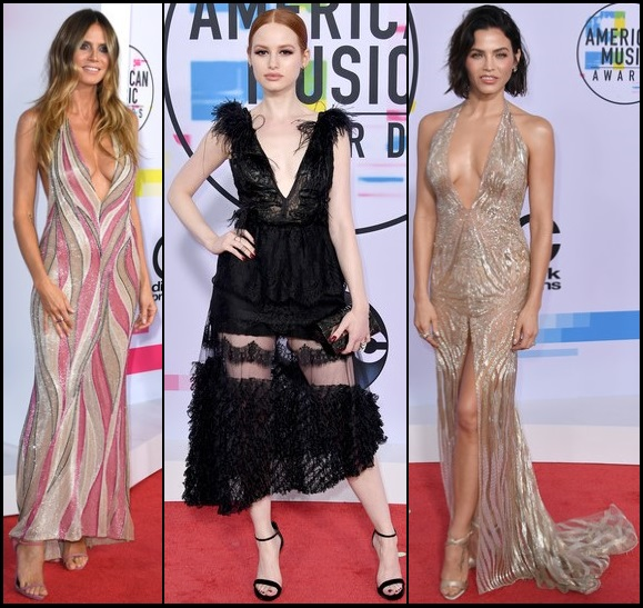 2017-American-Music-Awards-dresses-PLUNGING